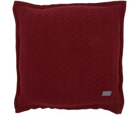 Poszewka na poduszkę z dzianiny Fishbone