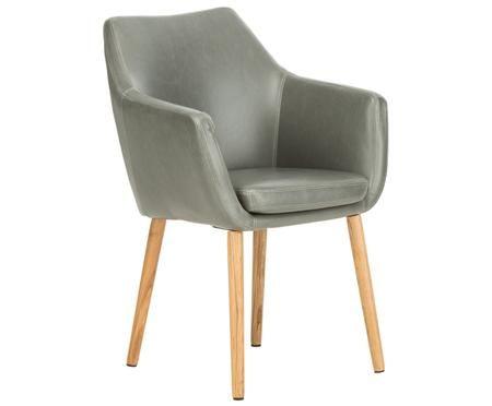 Krzesło z podłokietnikami Nora