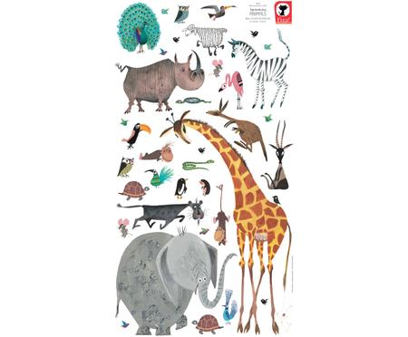 XL-Wandaufkleber-Set Animals, 39-tlg.