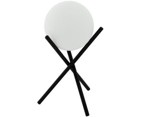 Lampada da tavolo in vetro opale Castellato