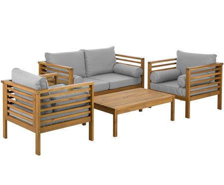 Outdoor-Lounge-Set Bo, 4-tlg.