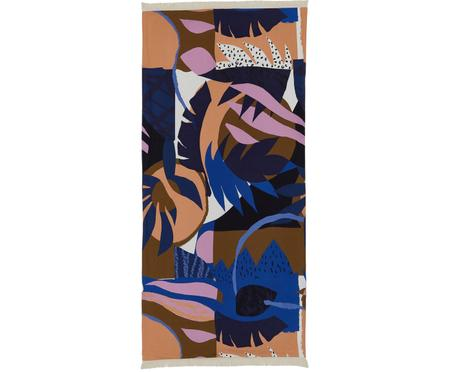 Strandtuch Darwin mit abstraktem Print
