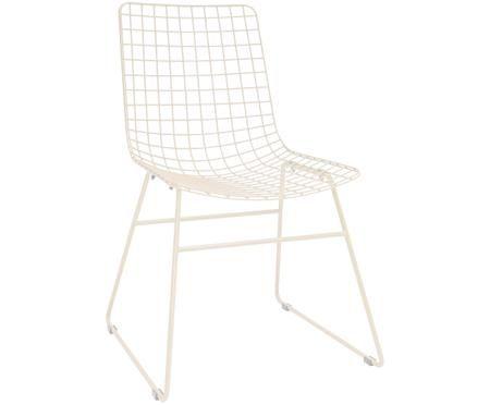 Kovová židle Wire