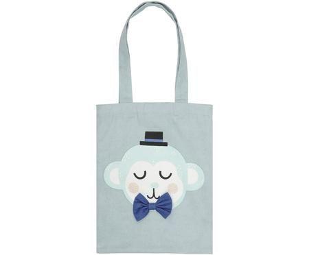 Bolsa de tela de algodón ecológico Monkey Monty