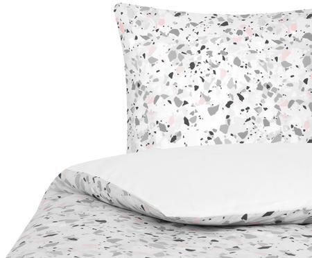Perkal-Bettwäsche Mosaik mit Terrazzo Muster