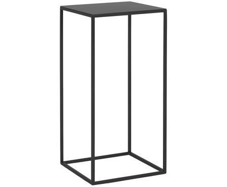 Metall-Beistelltisch Tensio in Schwarz
