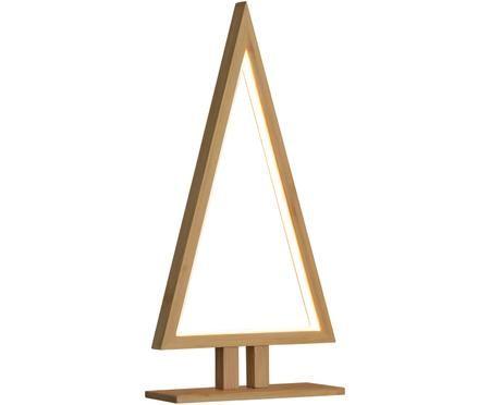Pino decorativo in legno illuminato a LED Pine