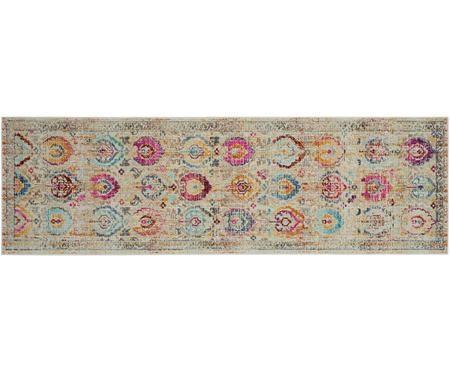 Niederflor-Läufer Kashan Vintage