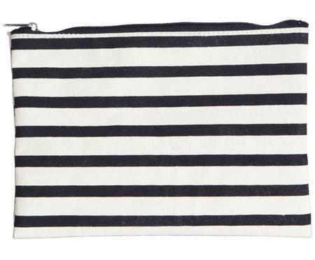 Kosmetiktasche Stripes mit Reißverschluss
