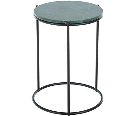 Table d'appoint ronde en marbre Ella