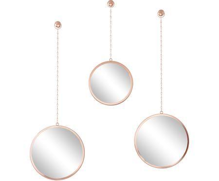 Súprava nástenných zrkadiel Dima, 3 diely
