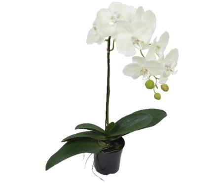 Fleur d'orchidée artificielle Eliza