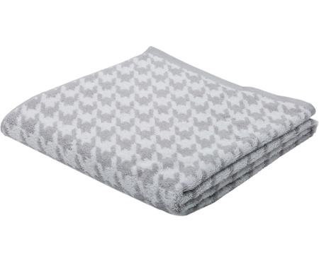 Duschtuch Shapes mit Hahnentritt-Muster