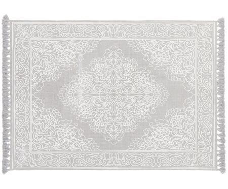 Ręcznie tkany dywan z bawełny z frędzlami Salima