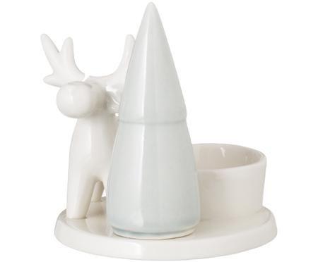 Portalume in porcellana White
