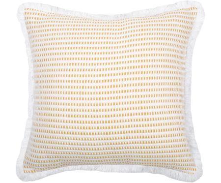 Cuscino con imbottitura giallo/bianco Salamanca