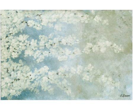 Impresión digital sobre lienzo Cerezo
