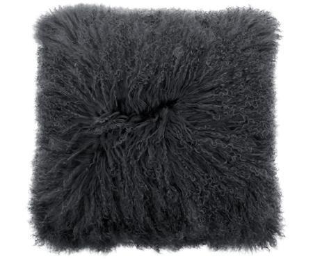 Obliečka na vankúš z jahňacej kože s dlhým vlasom