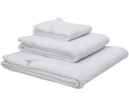 Komplet ręczników Birds, 3 elem.