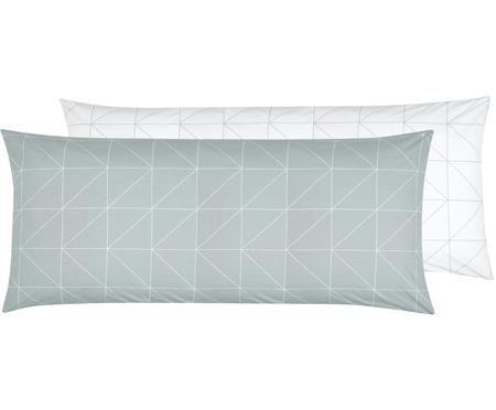 Funda de almohada de tejido renforcé Marla, caras distintas
