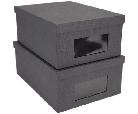 Aufbewahrungsboxen-Set Sigismund, 2-tlg.