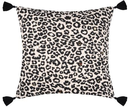 Kissenhülle Leopard
