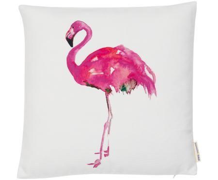 Housse de coussin réversible Flamingo