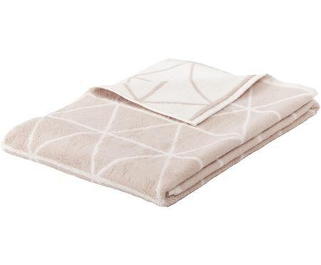 Wende-Handtuch Elina mit grafischem Muster