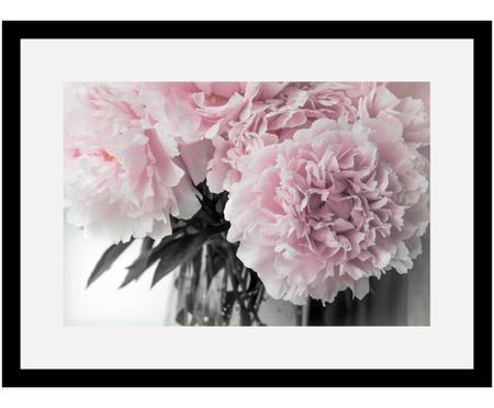Gerahmter Digitaldruck Pink Flowers