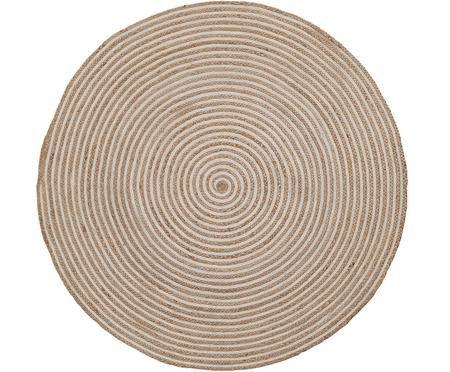 Runder Jute-Teppich Samy