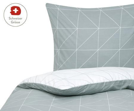 Renforcé-Wendebettdeckenbezug Marla mit grafischem Muster