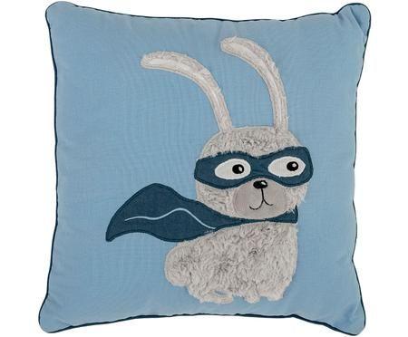 Cuscino con imbottitura con coniglietto Hero