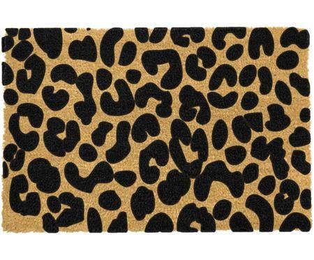 Zerbino in cocco leopardato Leopard