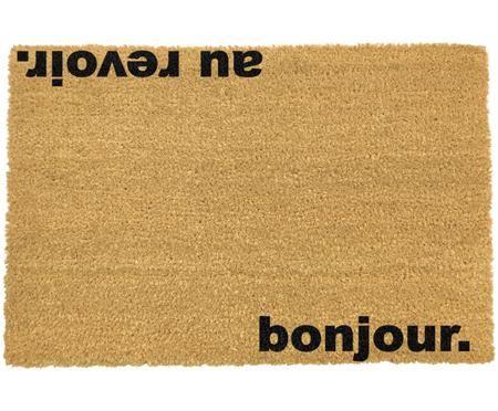 Fußmatte Bonjour Au Revoir
