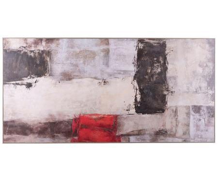 Impresión digital enmarcada sobre papel Abstract