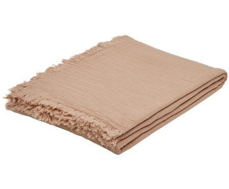 Plaid Vanly aus weichem Baumwollmusselin