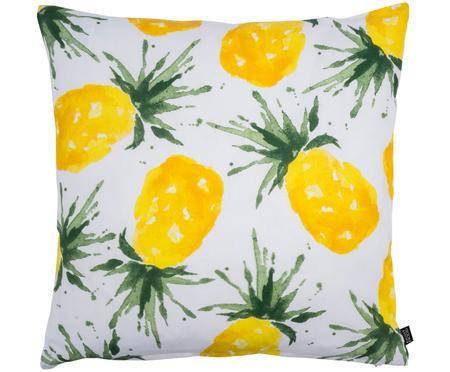 Kissen Crush mit Ananas, mit Inlett