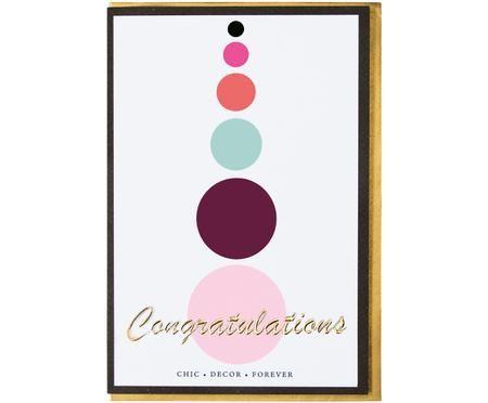 Wenskaart Congratulations