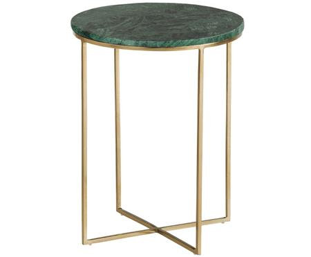Tavolino in marmo rotondo Alys