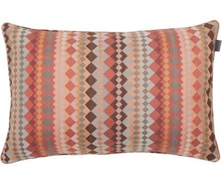 Viskose-Kissenhülle Rism mit grafischem Muster