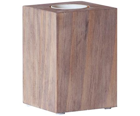 Kleine Tischleuchte Lys aus Holz