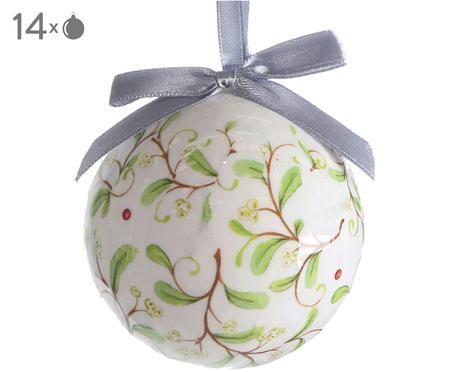 Bolas de Navidad Flora, 14uds.