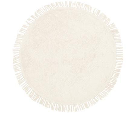 Okrągły ręcznie tkany dywan z bawełny Daya