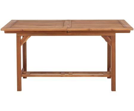 Tavolo da giardino allungabile in legno Somerset