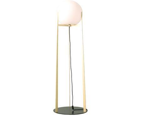 Stojacia lampa Milla, zo skla