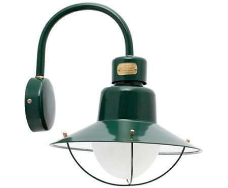 Outdoor design wandlamp Newport