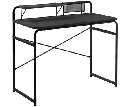 Pracovný stôl Foreman z čierneho kovu