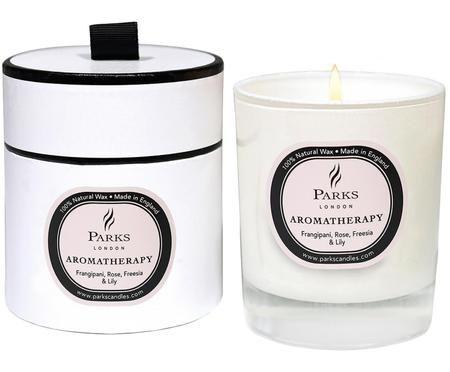 Świeca zapachowa Aromatherapy (róża, frezja, lilia)