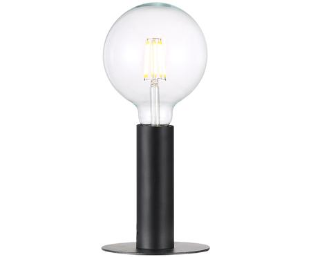 Černá stolní lampa Dean
