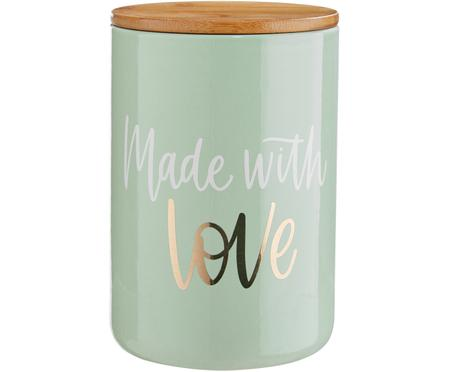 Aufbewahrungsdose Made with Love